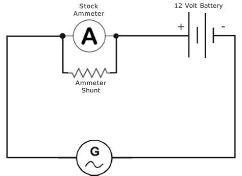 ammeter one wiring alternator diagram 37 wiring diagram
