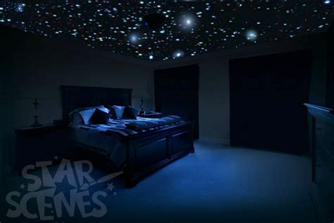 glowing for room home theater ceiling decals glow in the for