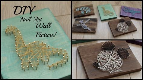Diy Bathroom Wall String To Diy Nail String Picture Easy Home Diy
