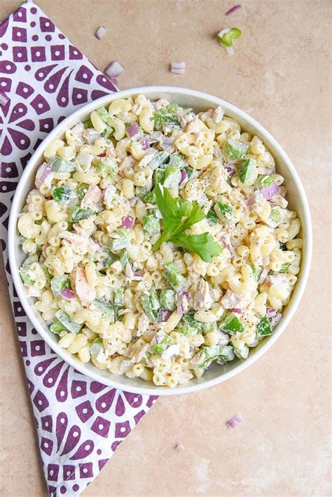 recipe for cold tuna macaroni salad tuna macaroni salad s