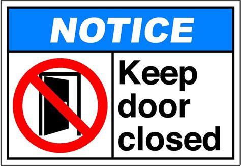 Door Closed by Shut The Door Clipart Clipart Suggest