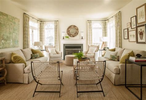 two loveseats in living room cottage and vine client inspiration the tale of two sofas