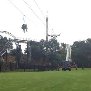 theme park perth chairlift passengers rescued after being stranded mid air