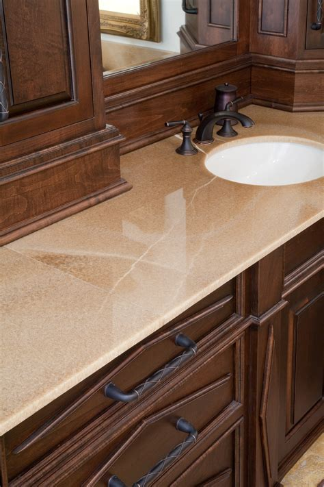 Onyx Countertop by Honey Onyx Vanity Countertop