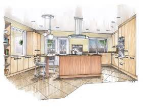 kitchen design drawings recent renderings mick ricereto interior product design