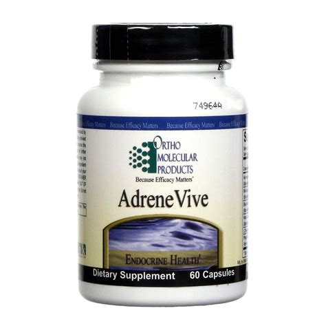 Metagenics Detox Reviews Australia by Buy Ortho Molecular Products Adrenevive 60 Vcapsules