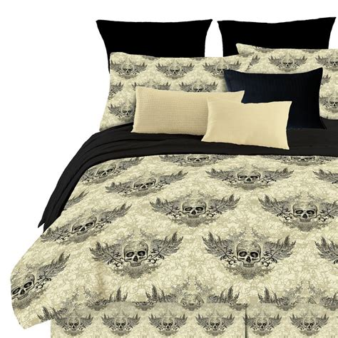 bedding bag freaky fun skull bedding in a bag funkthishouse com