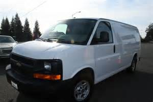 2005 chevrolet express cargo sold for sale by owner