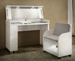 White Gloss Vanity Table Dressing Tables Modern Bedroom Furniture Trendy Products