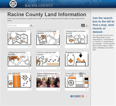 Racine County Records Arcwatch Racine County Wisconsin Uses Esri Technology To Quickly Serve Land