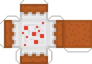 How To Make Minecraft Blocks Out Of Paper - minecraft paper cutouts minecraft papercraft packs v1 1