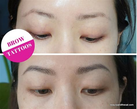 tattoo brow maybelline before and after journey to tatooine brow tattoos by sherri permanent