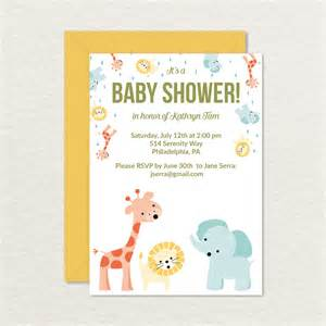 baby shower invitations printable cards f wall decal