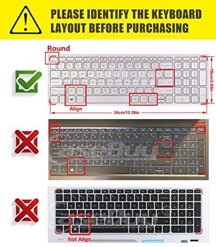 Musical Bronze Dust Keyboard Aksesoris Hp keyboard cover for hp 15 6 quot laptop 15 bs015dx 15 bs158cl 15 bk163dx hp notebook 15 ba015wm hp