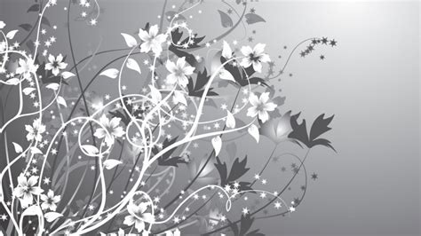 flower wallpaper grey 1366x768 white gray flowers abstract desktop pc and mac