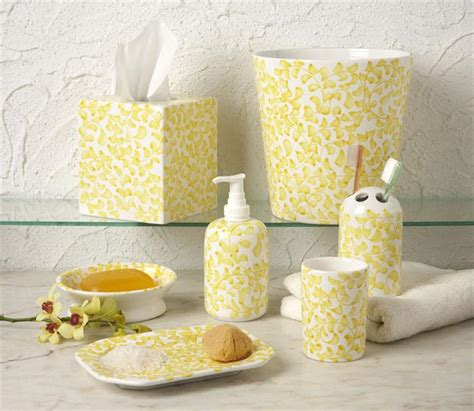 yellow bathroom accessories yellow bathroom accessories 11 bath decors