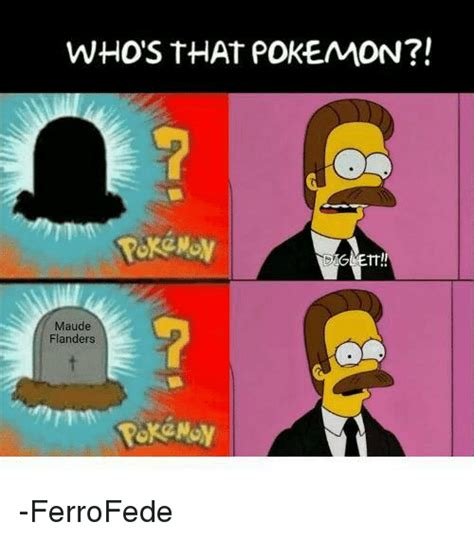 Whos That by Who S That Fm Maude Flanders Ferrofede
