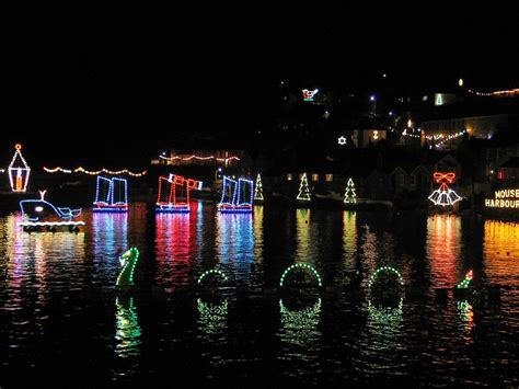 a visit to mousehole christmas lights on the twelfth night