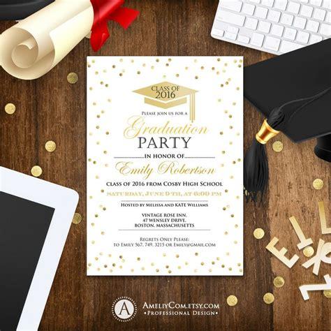 best 25 high school graduation invitations ideas on