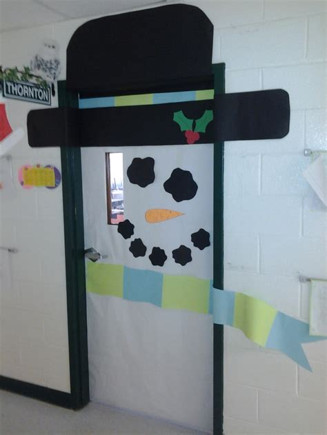 Snowman Door by Snowman Door To Go With Snowman Theme Class Snow