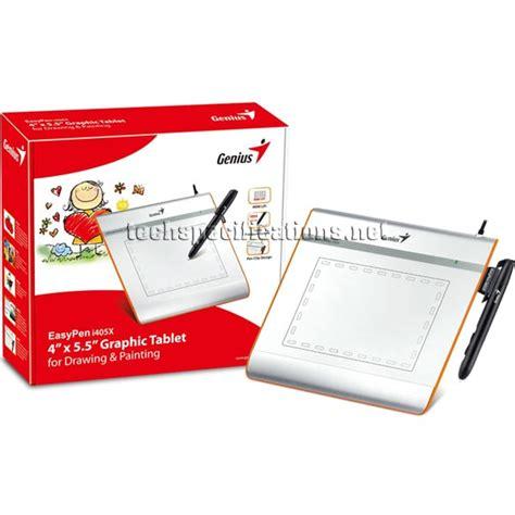 Genius Easypen I405x 4 X 55 Graphic Tablet For Drawing Painting genius easypen i405x graphic tablet tech specs