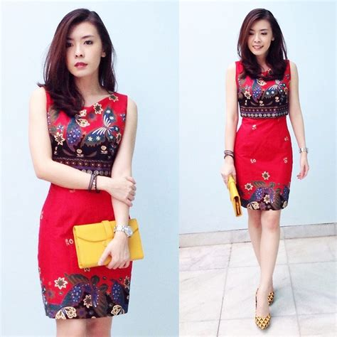 Dress Siska siska yap batik lookbook