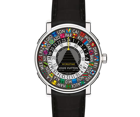 louis vuitton escale worldtime revealed at