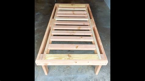 build  bed   lumber   youtube