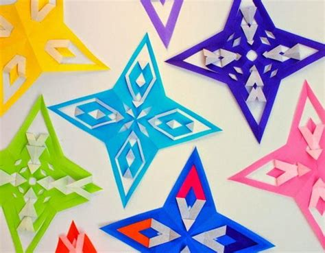 All Free Paper Crafts - origami paper ornaments