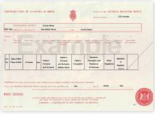 United Kingdom Birth Records Birth Certificates Uk