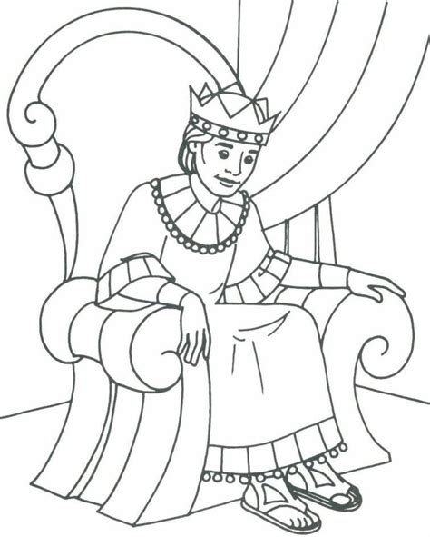 Free Coloring Pages Of King David | david becomes king coloring page az coloring pages