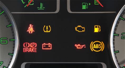 ford focus dashboard warning lights warning ls and indicators vehicle features official