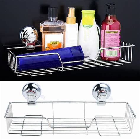 bathroom shelf with suction cups stainless steel bathroom shelf accessories suction cups