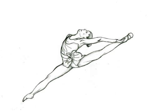 coloring pages of a girl doing gymnastics gymnastics coloring pages for girls fitfru style