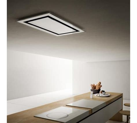 cappa a soffitto per cucina elica cappa cucina filtrante incasso soffitto 100 cm