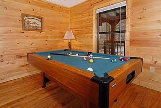 branch brook pool tables branch bluff mountain chalet 289 luxury chalet in