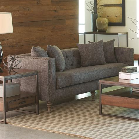 industrial style sofa coaster ellery 505771 sofa with traditional industrial