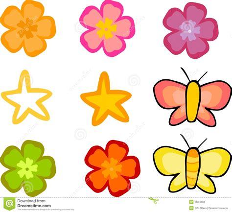 imagenes flores mariposas flores y mariposas fijadas fotos de archivo imagen 2584893