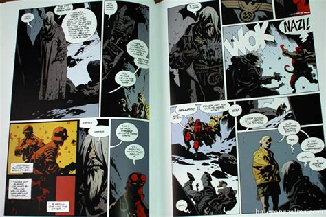 hellboy in hell library edition hellboy library edition volume 3 book review