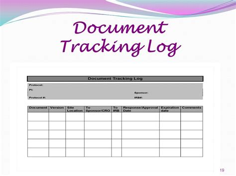 Document Tracking Software