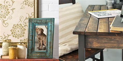 going vintage how to distress furniture craft paper