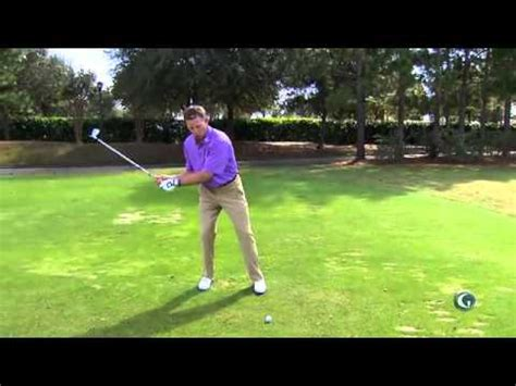 golf swing not hit eliminate the fat shot michael breed youtube