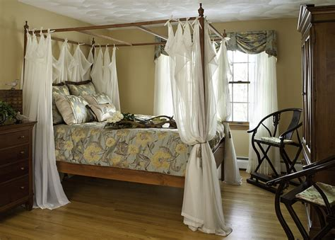 Bed Canopy Curtains Ideas Decor Master Bedroom Traditional Bedroom Boston By Decorating Den Interiors Strok