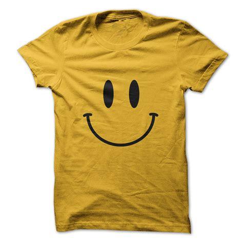 M 2723 Knit Tshirt Smile retro acid smiley t shirt
