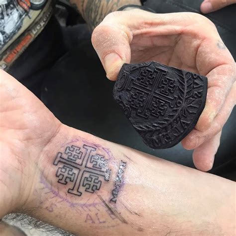 getting tattoos on pilgrimage to jerusalem