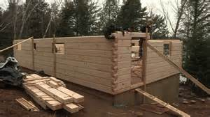 Blueprints For Tiny Houses discovery dream homes log assembly youtube