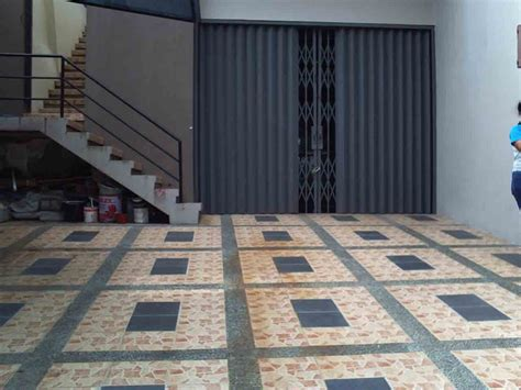 Gambar Dan Sho Metal motif keramik granit untuk lantai rumah renovasi rumah net