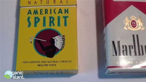 Malboro Lights by Radiation Monitor Cigarette American Spirit Natural Vs