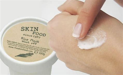 The Skinfood Rice Mask Wash impression review skinfood rice mask wash k