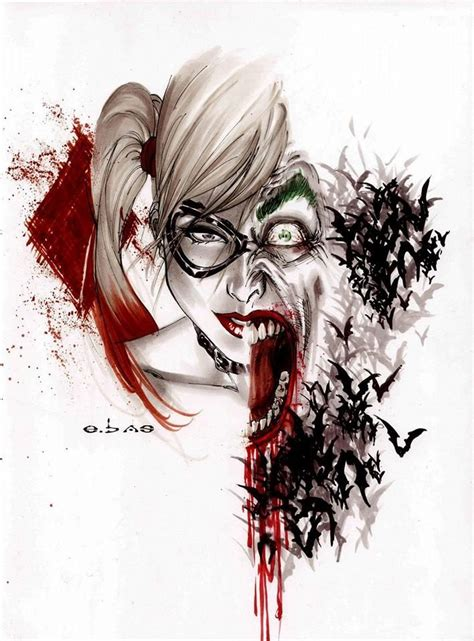 google imagenes de joker psychotic love joker and harley quinn bat family